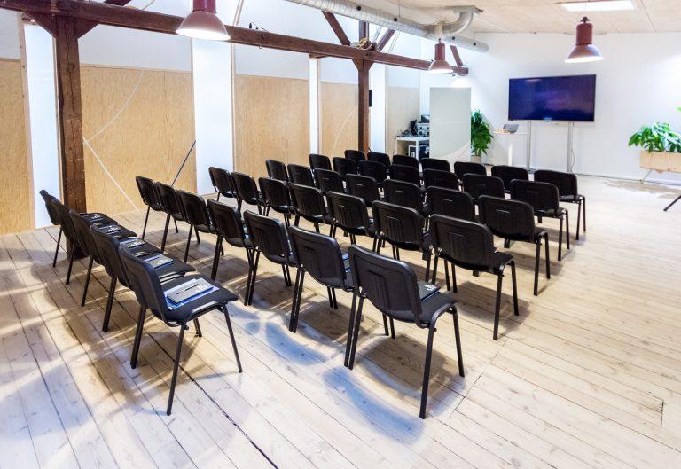 Konferencelokale i hjertet af Coworking Plus