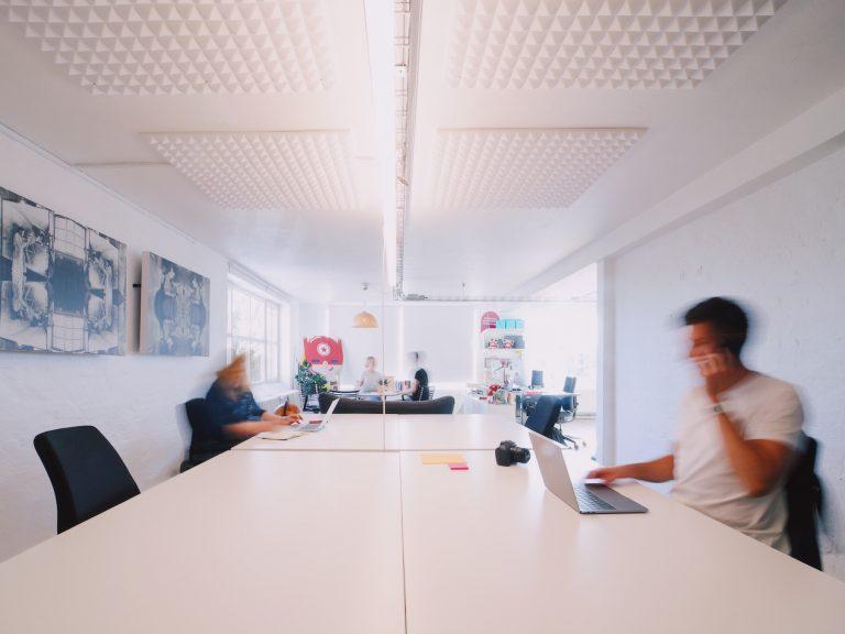 Flex kontorplads i kontorfællesskab